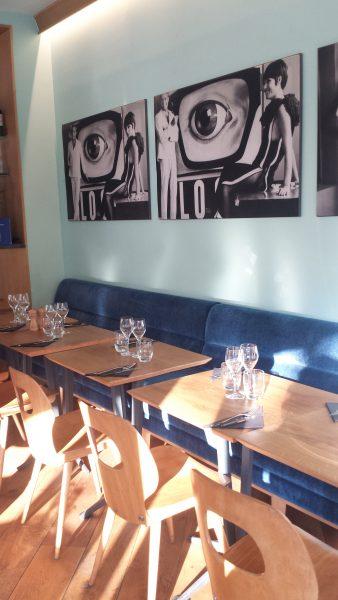 La salla du restaurant Baretto di Edgar