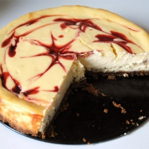 cheesecake chocolat blanc framboise facon starbucks coffee de stellacuisine