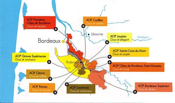 Accordez vos plateaux de fromages à du vin blanc liquoreux de Bordeaux !