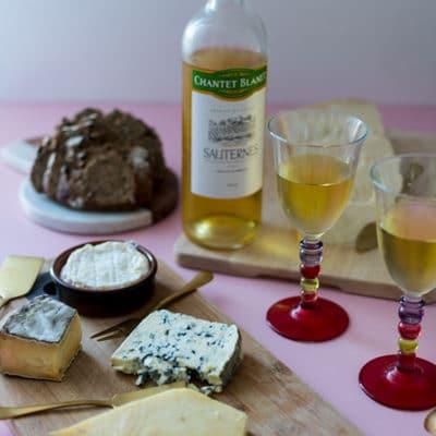 Accordez vos fromages avec des vins de Bordeaux liquoreux !
