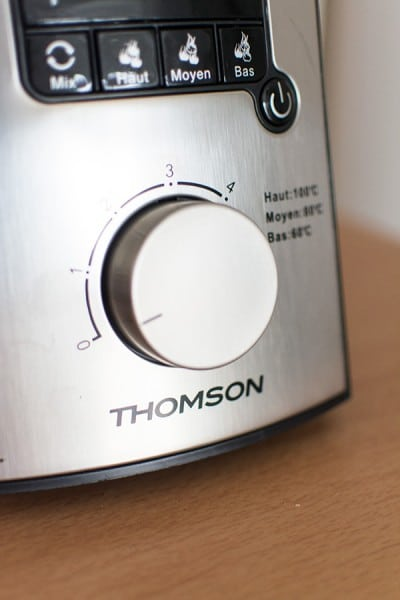 {Test} Blender Chauffant Geni Mix de Thomson