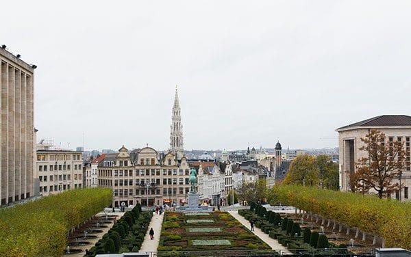 Pavé à la Leffe : un fromage à la bière exquis ! Et Bruxelles, une ville magnifique.