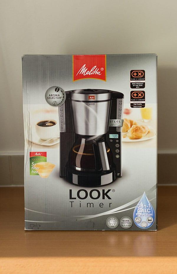Cafetière Look® Timer de Melitta®
