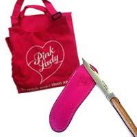 Couteau Laguiole en bois de pommier Pink Lady, Edition limitée à 100 exemplaires