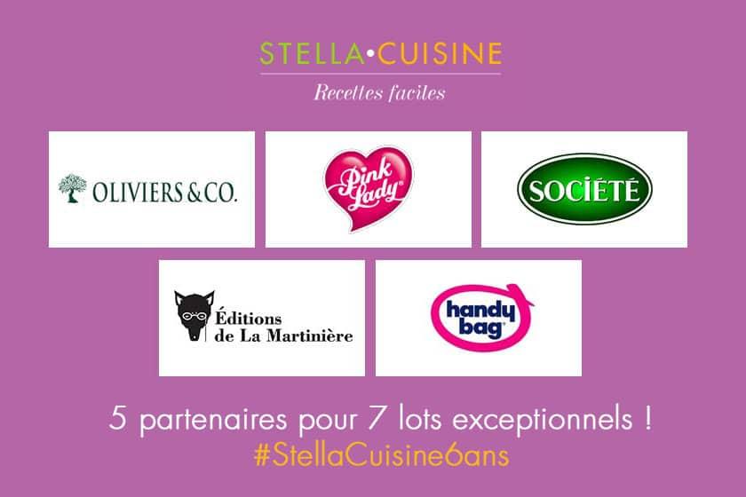 Stella Cuisine fête ses 6 ans {CONCOURS – 7 lots à gagner}