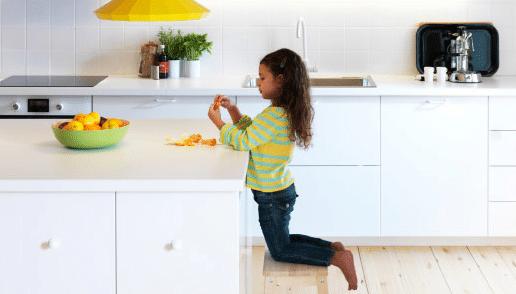 5 règles pour rendre la cuisine amusante pour les enfants, par Ikea