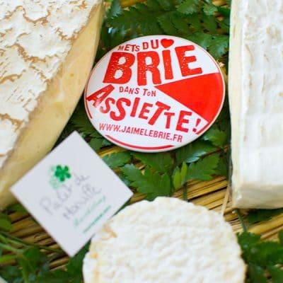 J'aime les fromages de Brie !