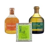 Oliviers&Co, huile d'olive au basilic, huile d'olie Gramanosa, condiment au Curcuma