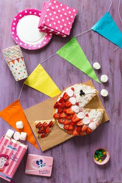 Recette de Gâteau pour kermesse : poisson rigolo avec Alsa (Concours Inside), recette pour enfants, à faire avec les enfants !