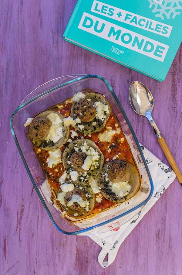 Recette d'Artichauts farcis aux boulettes de boeuf, extrait du livre Simplissime Picard Surgelés de Jean-François Mallet, recette facile et express !
