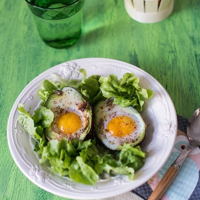 Recette d'Avocado eggs (oeufs cocotte dans un avocat)