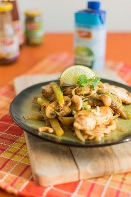 Recette de Pad thaï poulet