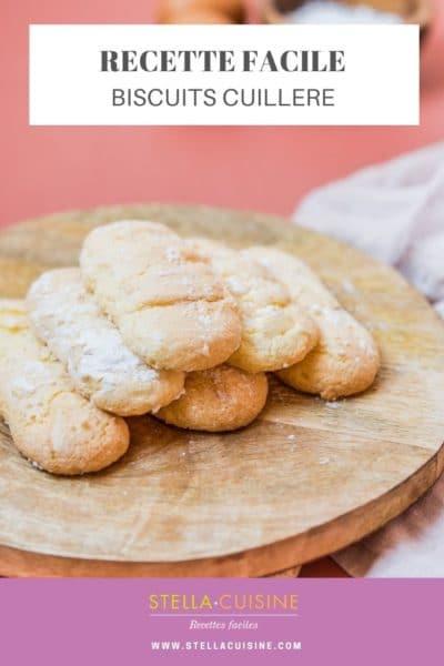 Recette de Biscuits cuillère facile, recette de biscuits pour tiramisu ! Une recette facile de biscuits à la cuillère, pour petits et grands, pour vos gâteaux !