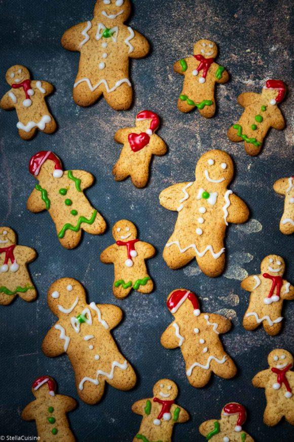 Recette de Gingerbread Men (biscuits épicés)