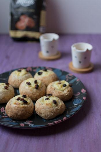 Recette de brioches marocaines à la crème pâtissière