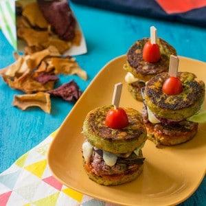 Recette de Mini burgers de légumes {Défi Picard Hacker}