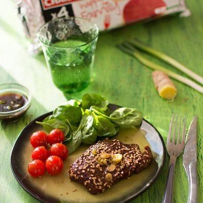Recette de Steak Charal mariné à la sauce soja et sésame