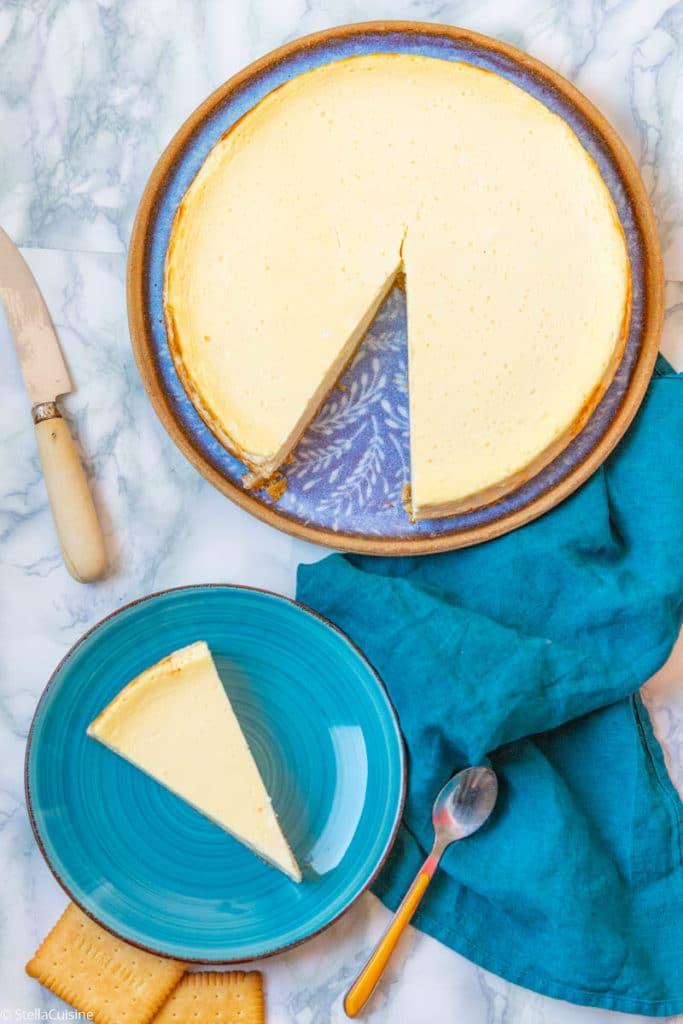 Recette facile de New-York Cheesecake, comme dans la série Friends ! Recette de cheesecake facile.