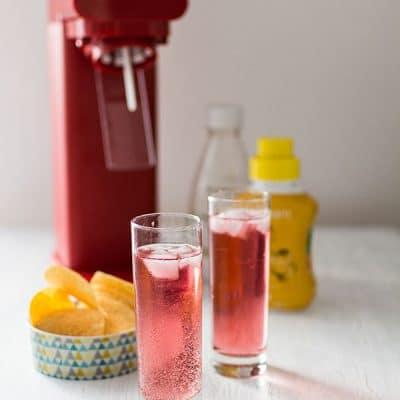 Recette de Cocktail Bloody Tonic (Sodastream), cocktail avec alcool vodka facile et rapide pour une soirée entre amis !