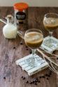 Cocktail hivernal au café, rhum et crème
