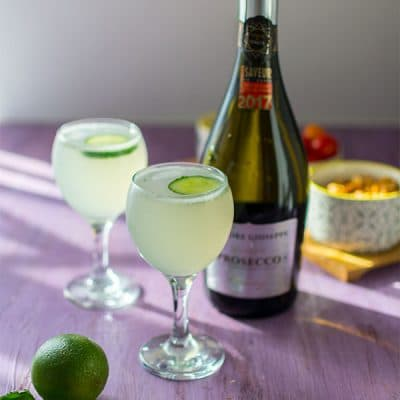 Recette de Cocktail East Side (Gin et Prosecco)