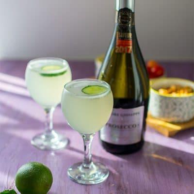 Recette de Cocktail East Side (Gin et Prosecco)