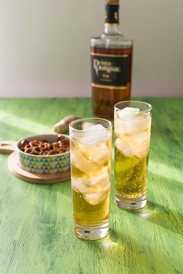 Recette de Cocktail Polignac Ginger, recette facile et originale de cocktail à base de cognac !