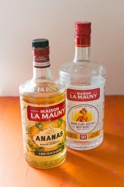 Recette de Cocktail Hawaiian Blue au Rhum La Mauny