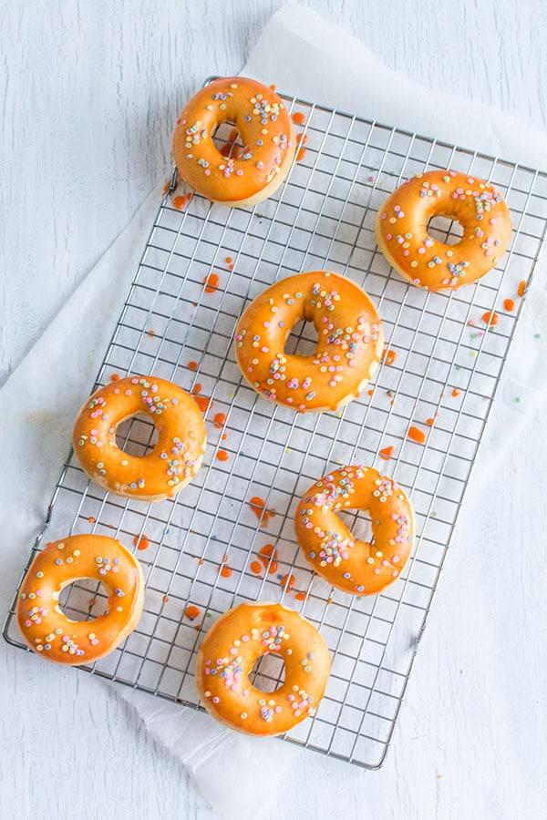 """Recette de Donuts """"light"""" au four, recette de mardi gras légère mais savoureuse"""
