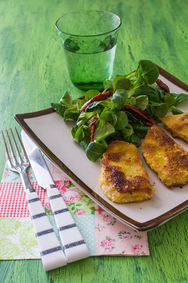 Escalopes de céleri