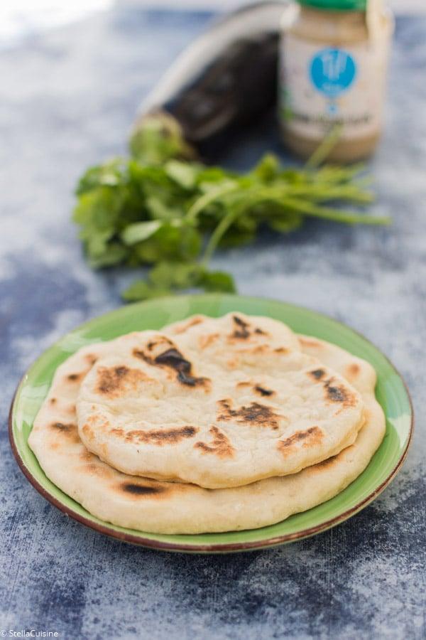 Recette de Pain pita (pain libanais cuit à la poêle)