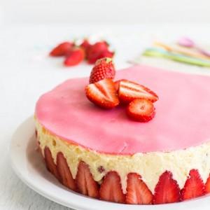 Recette de fraisier facile