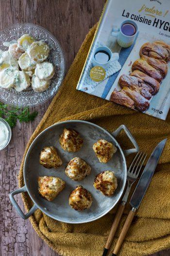 Recette de Fricadelles et poulet et salade de pommes de terre (Hygge)
