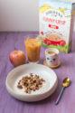 Fromage blanc maison sans présure et topping aux céréales façon granola