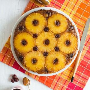 Recette de gâteau renversé à l'ananas