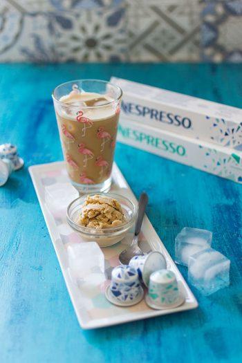 Recette de Glace au café {Nespresso Iced Coffee}, sorbet au café facile et rapide