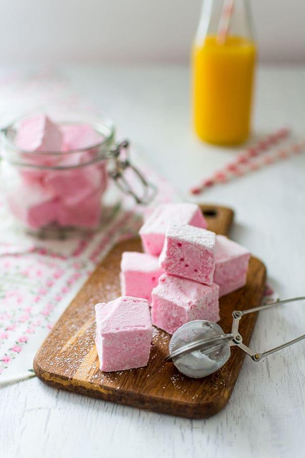 Recette de Guimauves ou marshmallows maison
