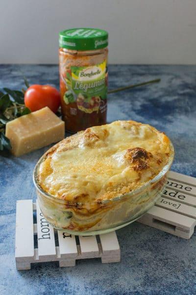 Recette de lasagnes végétariennes aux courgettes, recette facile et rapides de lasagnes veggies !