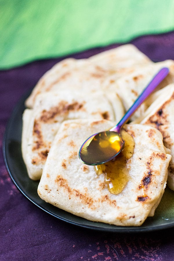 Recette de Msemens, crêpes feuilletées marocaines