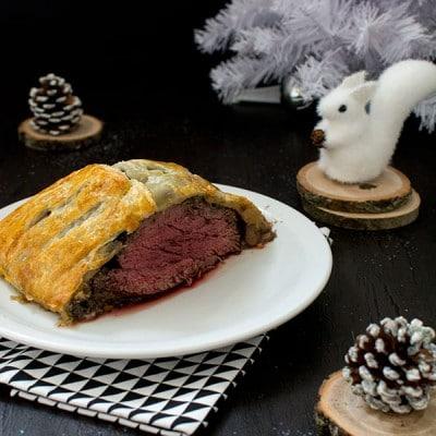 Recette de Noël : rôti de boeuf Wellington