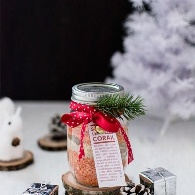 Cadeau gourmand : soupe de lentilles corail en bocal {DIY}