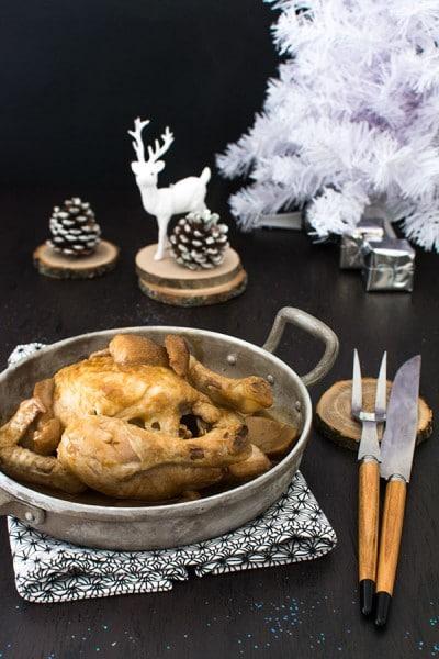 Recette de Noël : Coquelets sauce aux cèpes