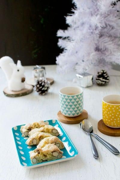 Recette de Noël : Croquants aux amandes