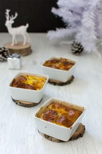 Recette de Noël : flans de légumes aux marrons