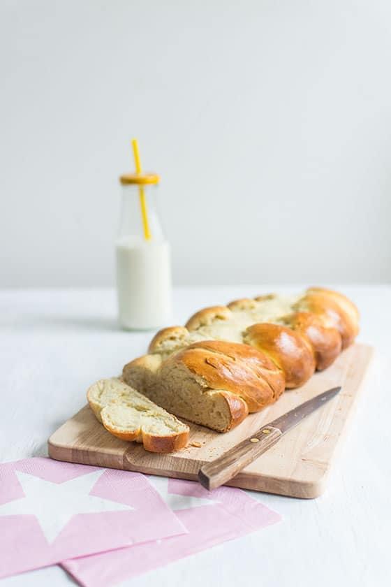 Recette de pain au lait sans machine à pain