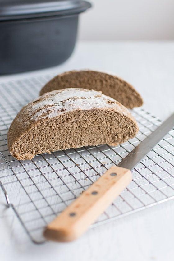 Recette Ultra Pro 5.7 L Tupperware recette de pain complet en cocotte à l'ultra pro de tupperware
