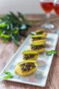 Pommes de terre primeurs à la tapenade pour l'apéritif