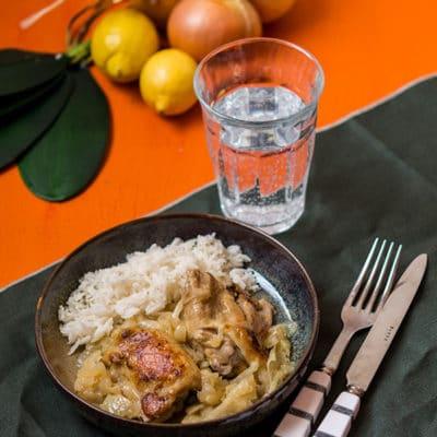 Poulet yassa (recette Cookeo)