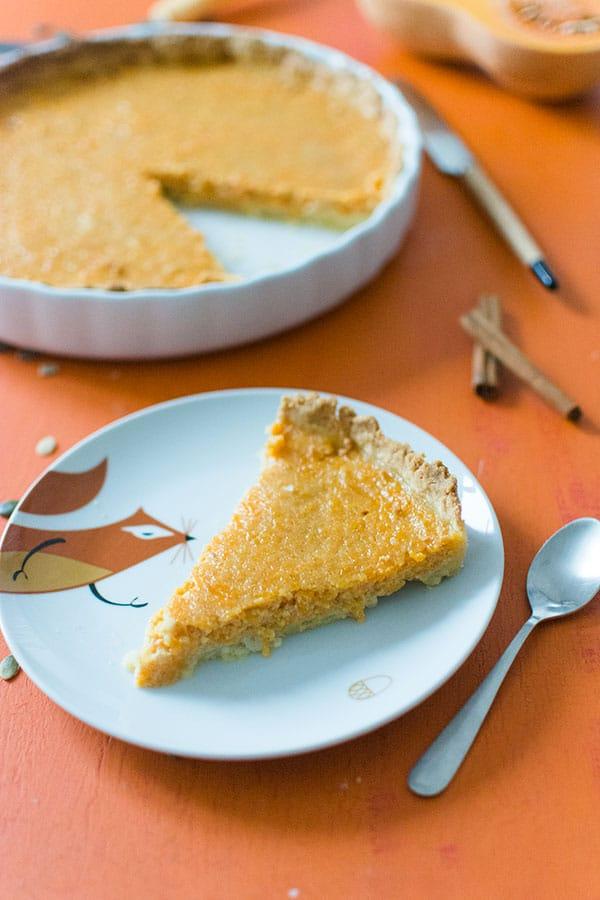 Recette de Pumpkin Pie