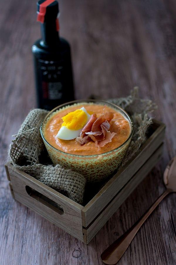 Salmorejo express à l'huile d'olive Les Callis